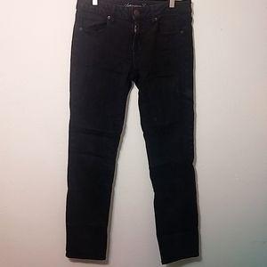 American Eagle | Black Skinny Denim Jeans 10